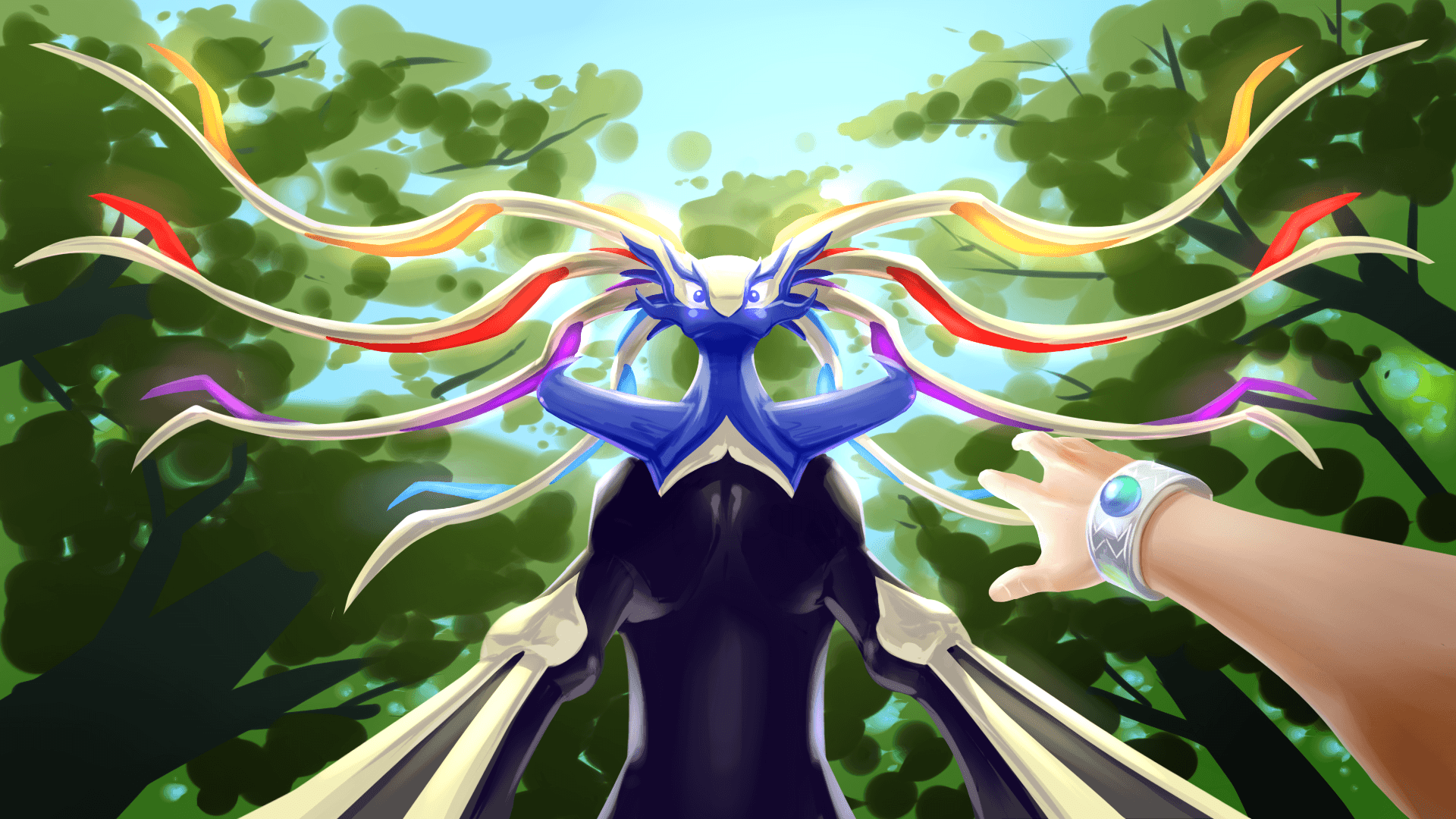 Xerneas Wallpapers Image Photos Pictures Backgrounds