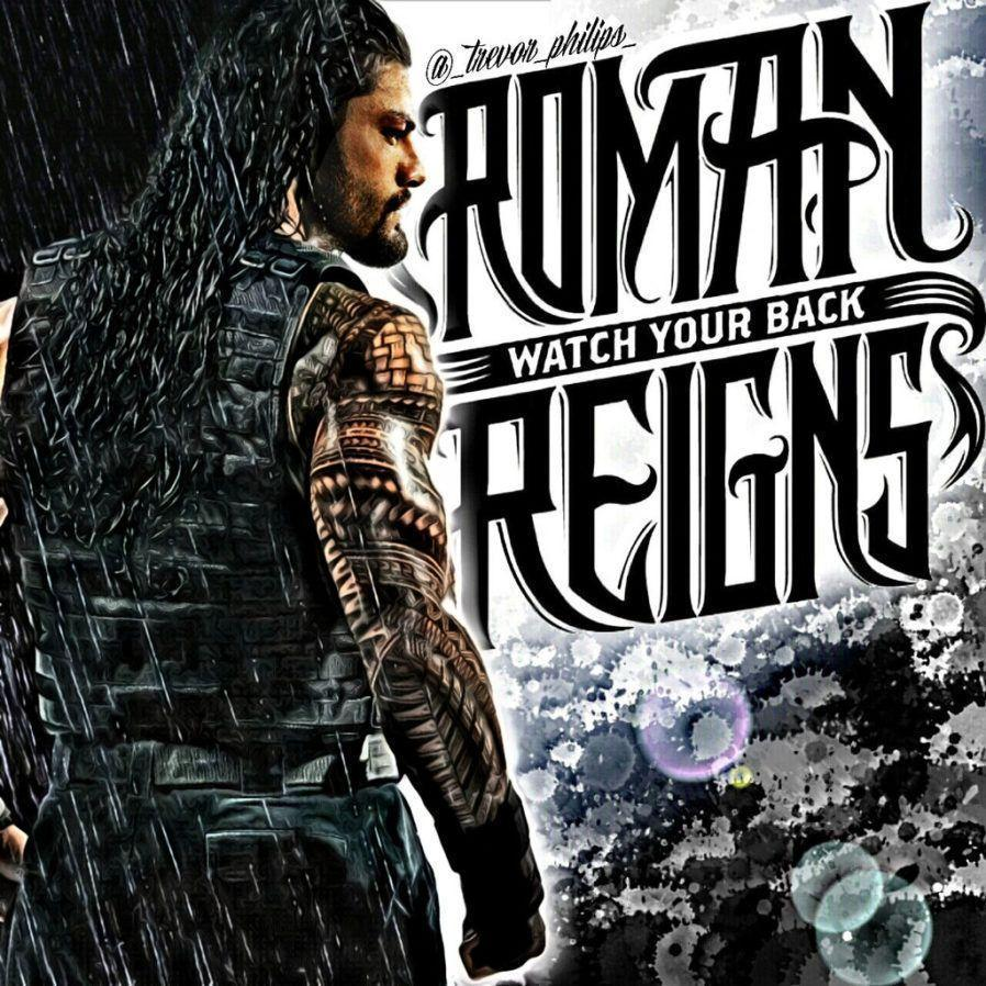 Roman Reigns Rr Logo Wallpapers