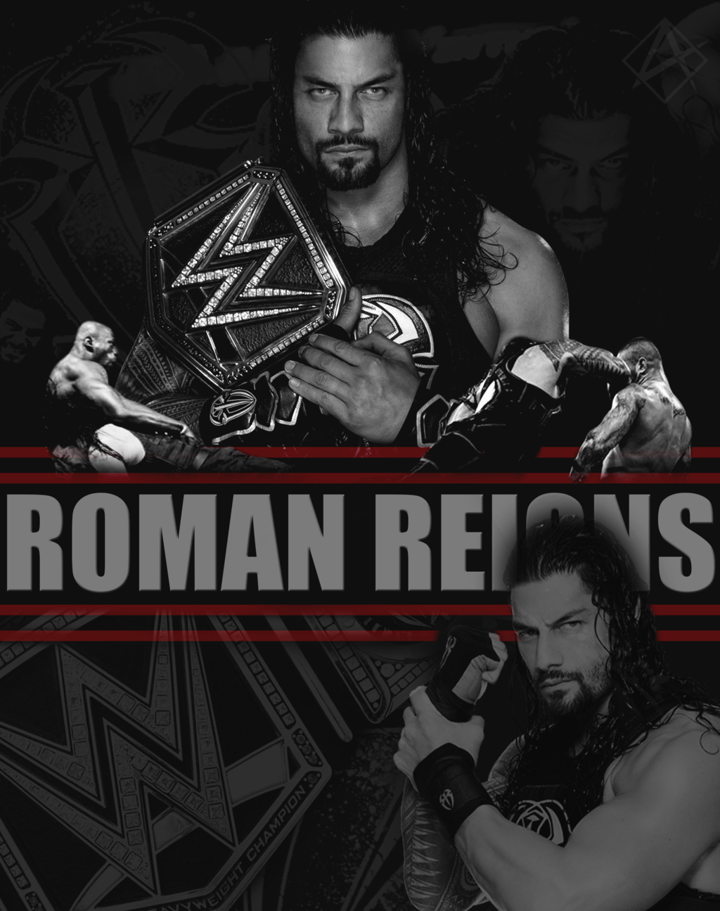 Roman Reigns Wallpapers by Aaaalif