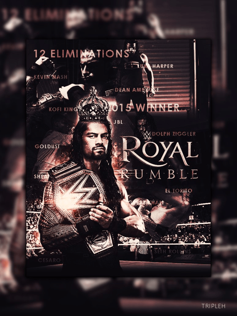 Wallpapers Roman Reigns Royal Rumble By Tripleh On Rr Logo Hd Of