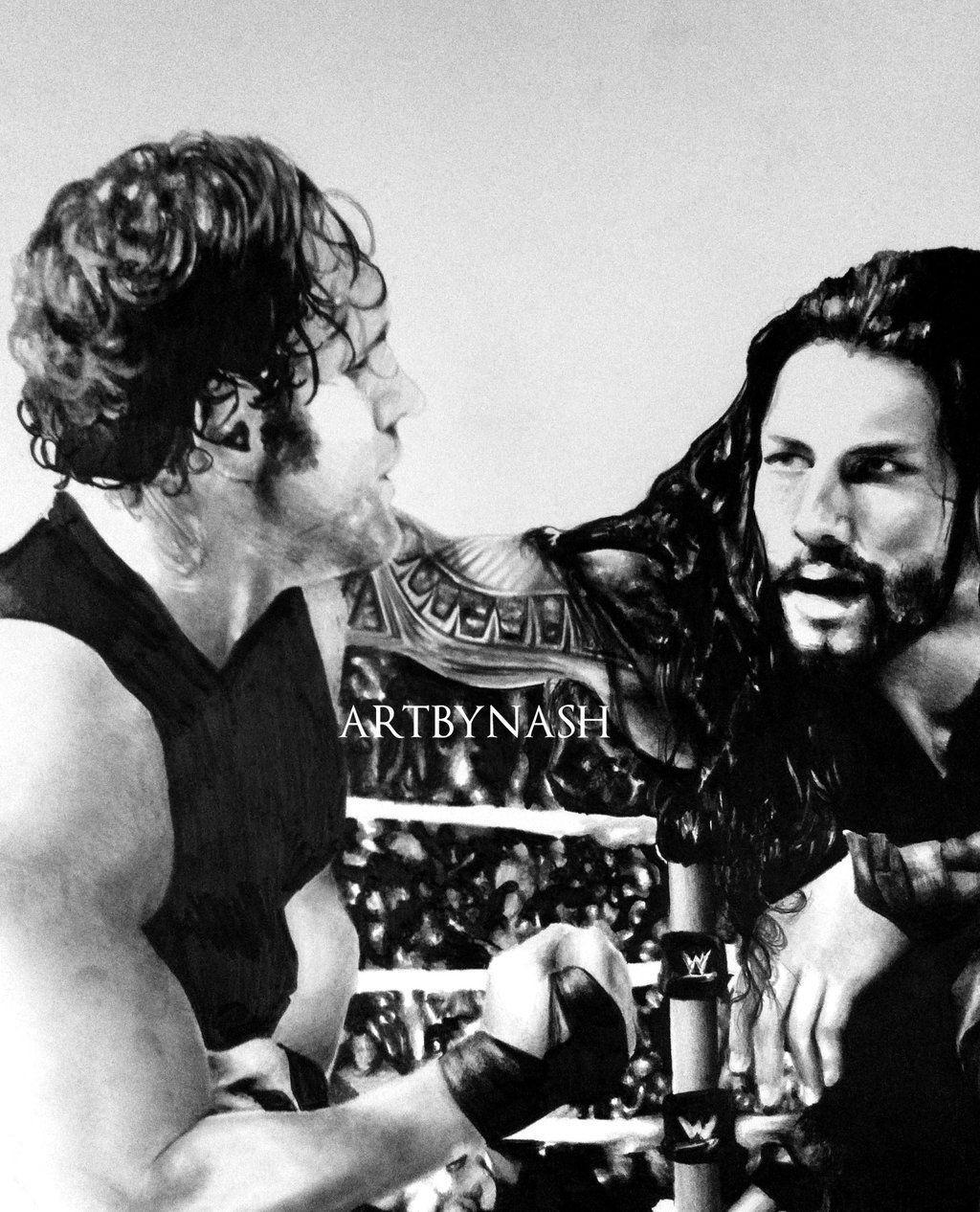 Brothers. Roman reigns and Dean ambrose