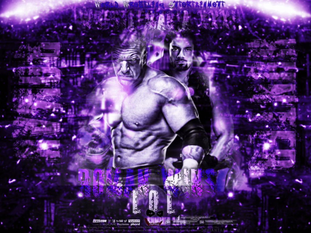 Triple H VS Roman Reigns Wrestlemania 31 Wallpapers by JoKeRWord on