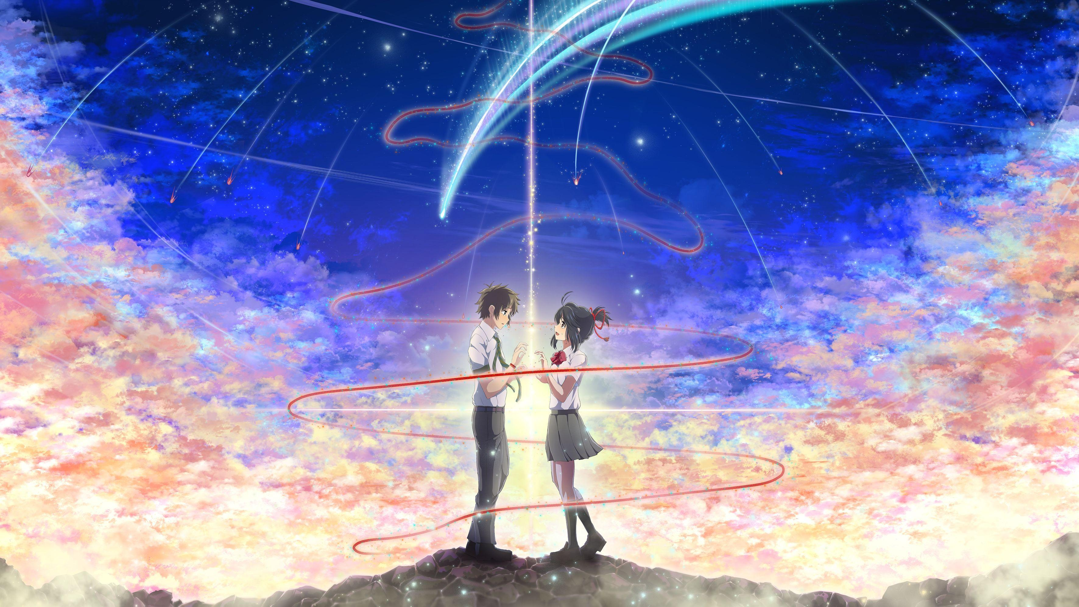 Kimi No Na Wa Hd Wallpapers Backgrounds Wallpaper Abyss