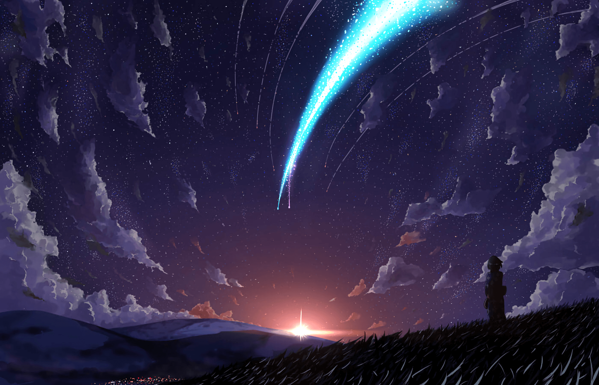 Kimi No Na Wa Wallpapers Wallpaper Cave Wallpaper Picture