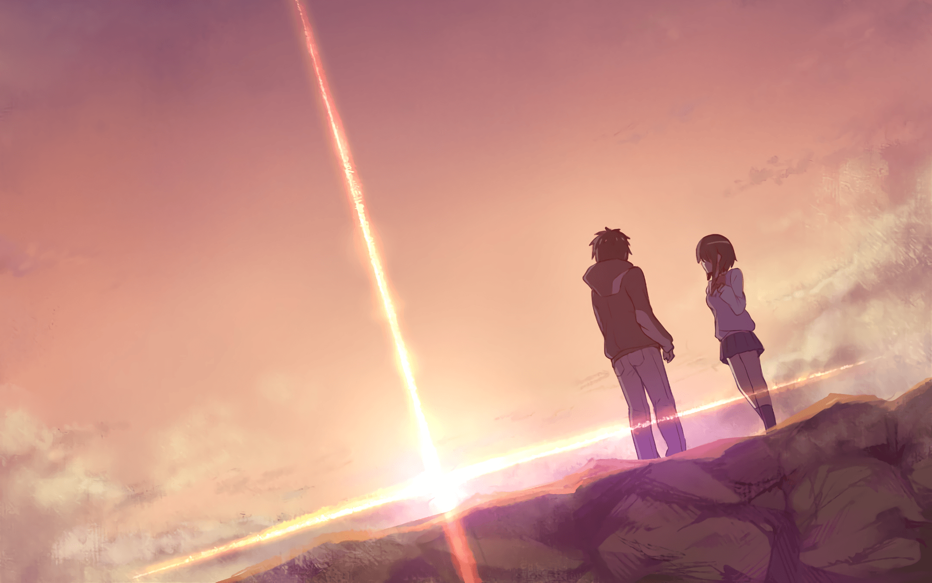 Anime Wallpapers Kimi No Nawa Hd 4k Download For Mobile Iphone