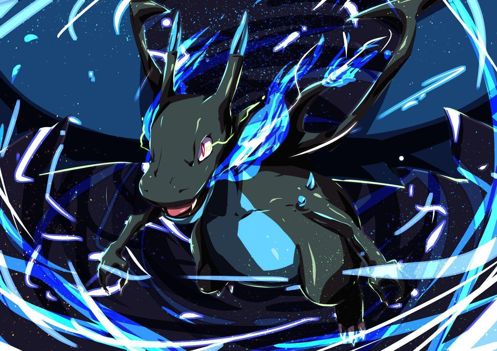 10 Mega Charizard X (Pokémon) HD Wallpapers | Background Images ...