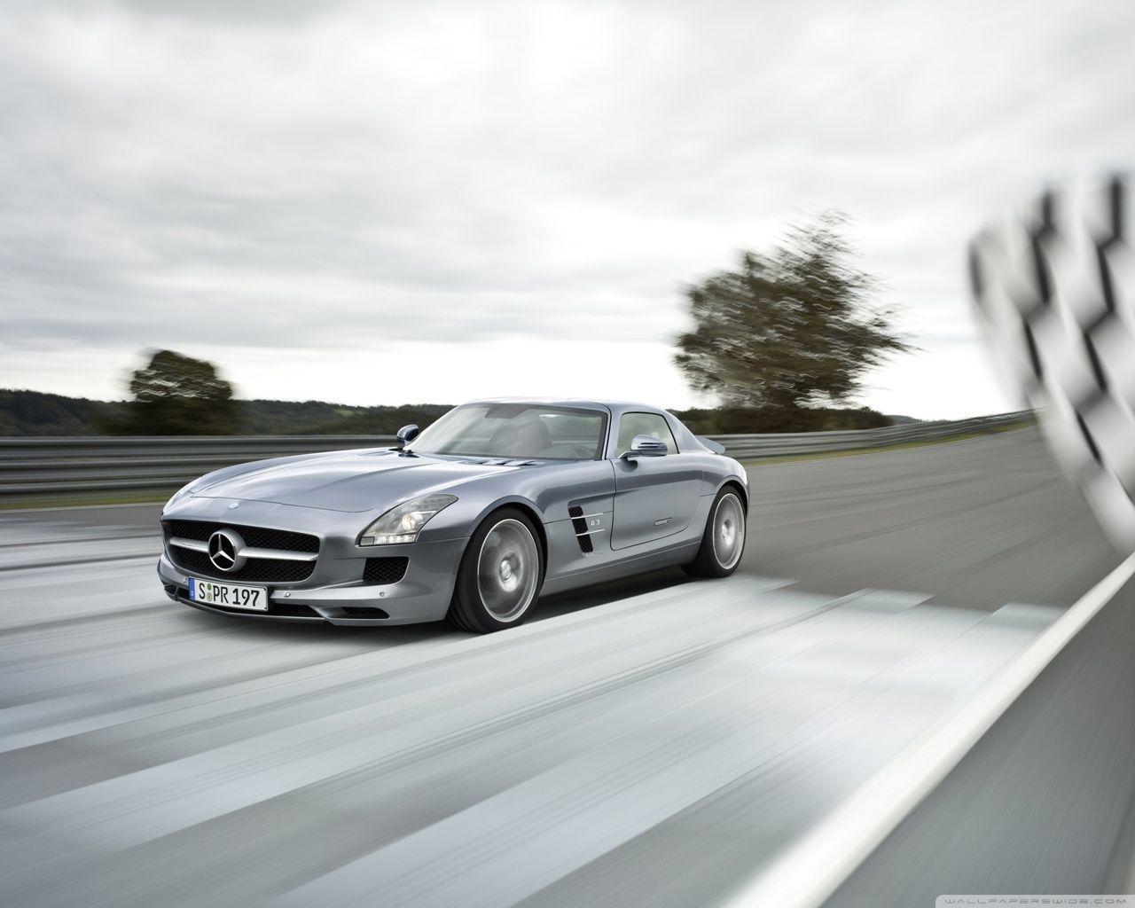 Mercedes Benz Sls Amg Supercar Hd Desktop Wallpaper Mobile