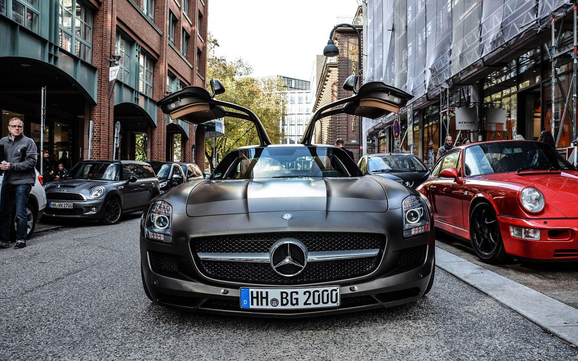 Mercedes Benz SLS AMG Wallpapers - Wallpaper Cave