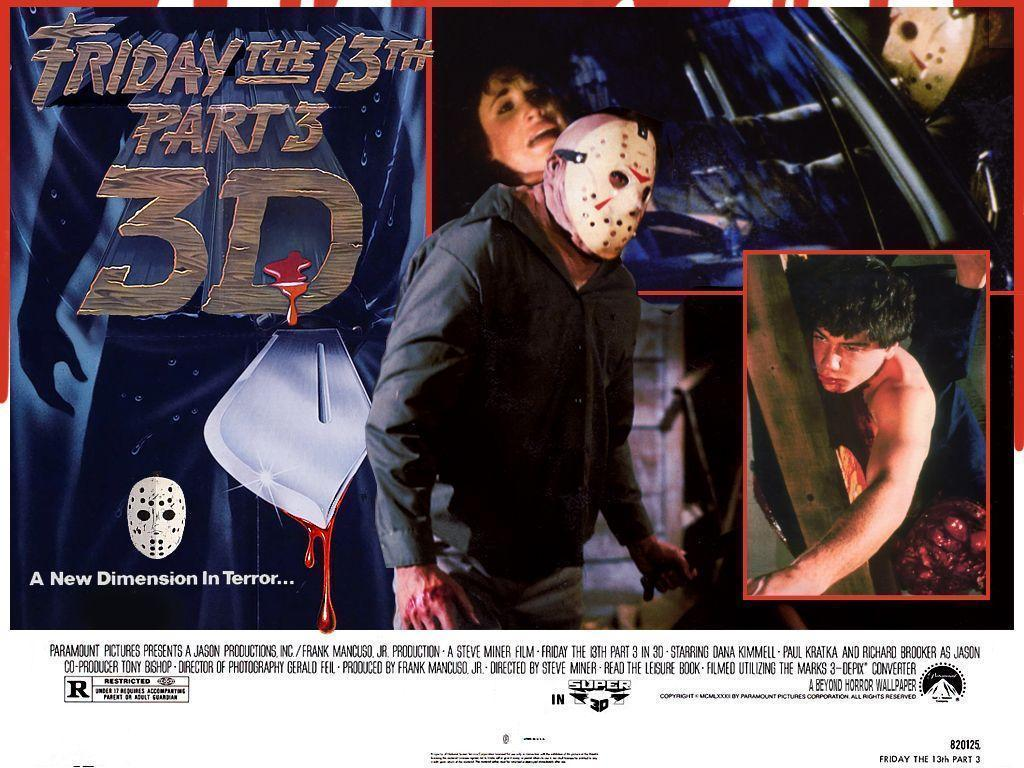80s Horror image Friday the 13th Part 3 HD wallpapers and