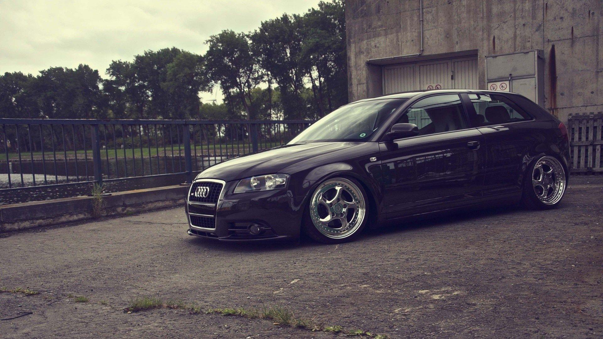 Tuned Black Audi A3 Wallpapers 36023 1920x1080 Jpg - illinois-liver