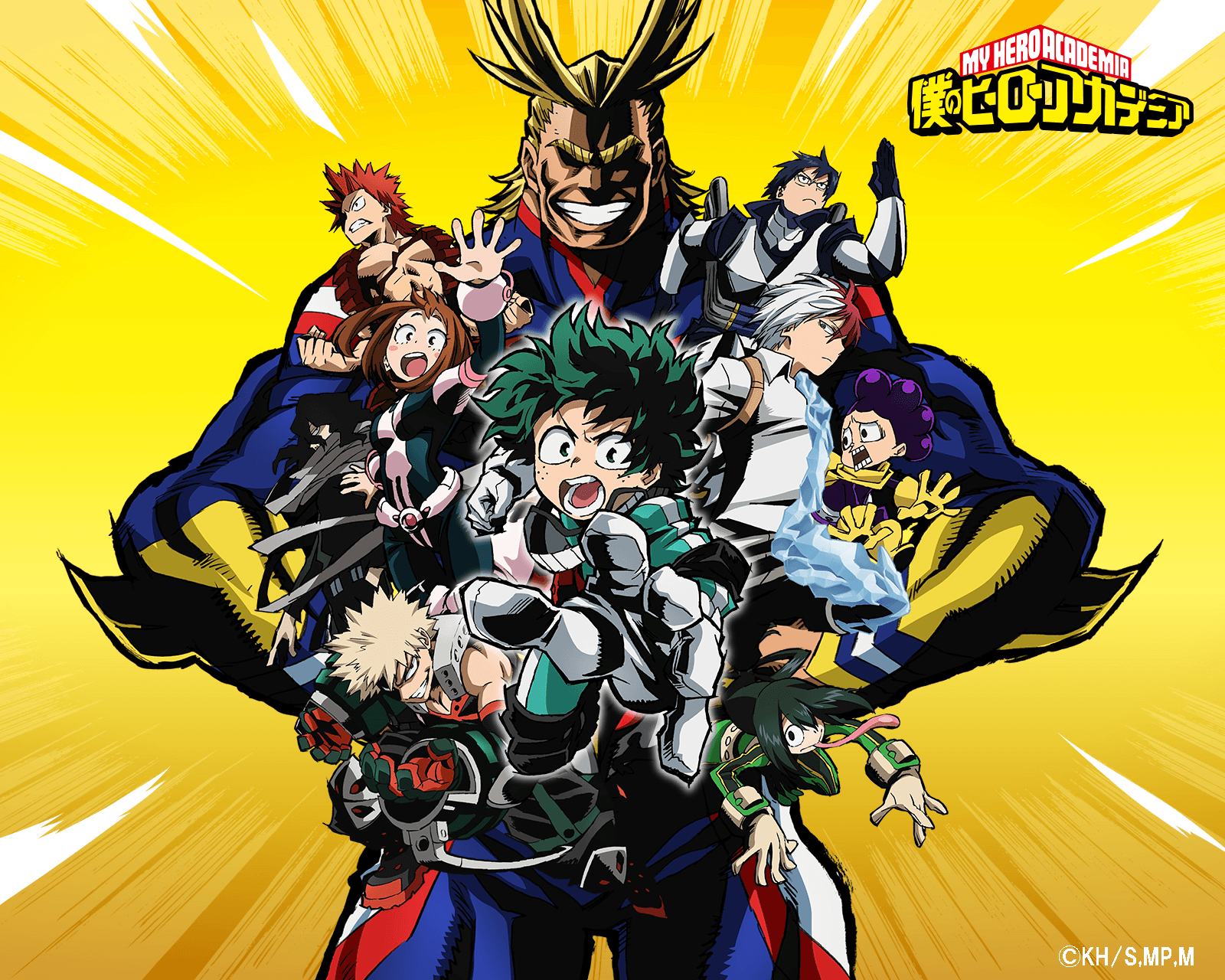 Boku No Hero Academia Wallpapers Wallpaper Cave