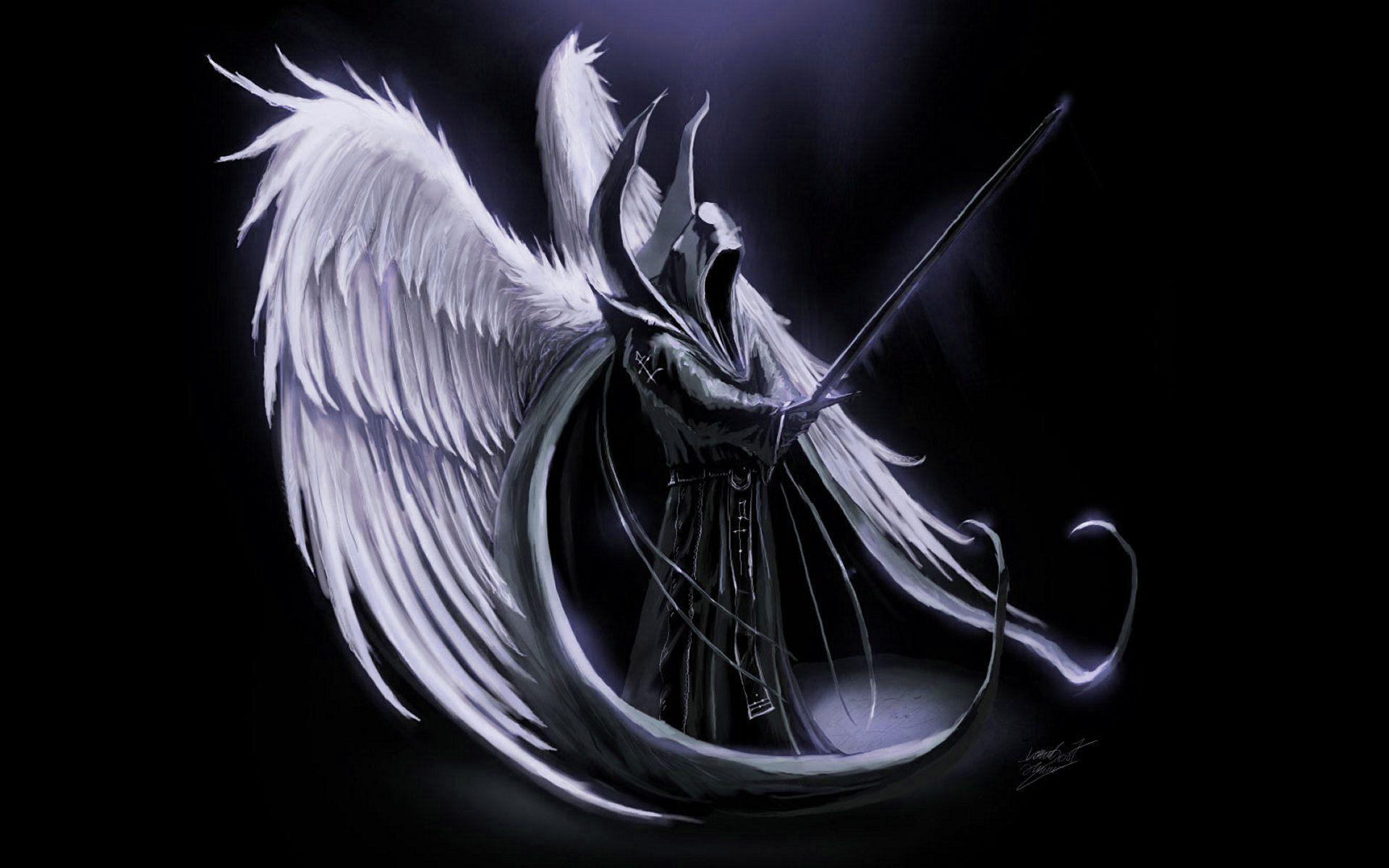Angel Of Death Wallpapers Wallpaper Cave