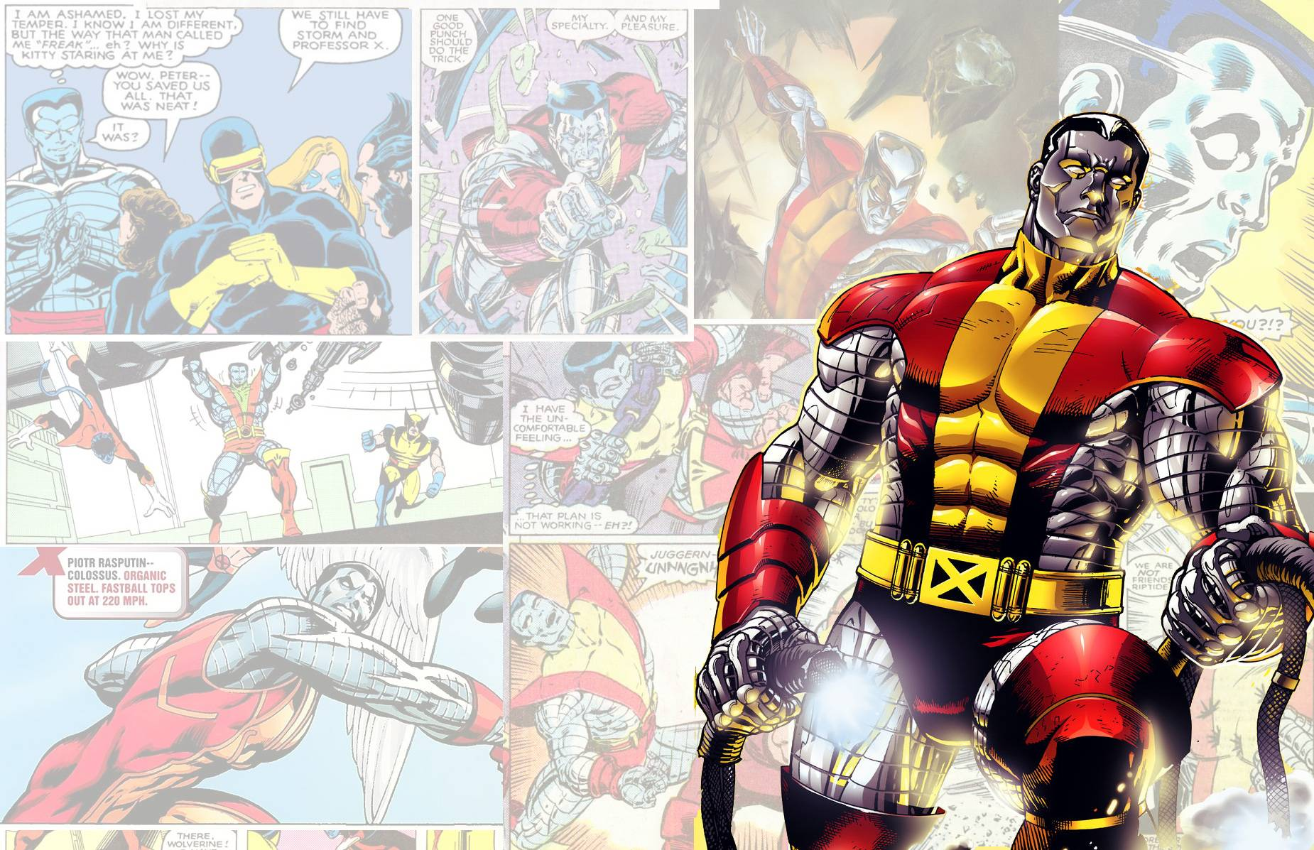 colossus marvel x men - photo #40