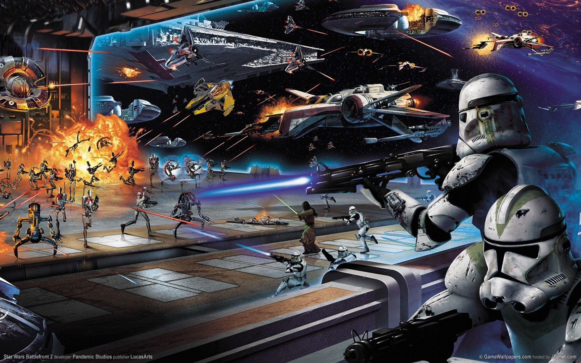 9 Star Wars: Battlefront II HD Wallpapers | Backgrounds ...
