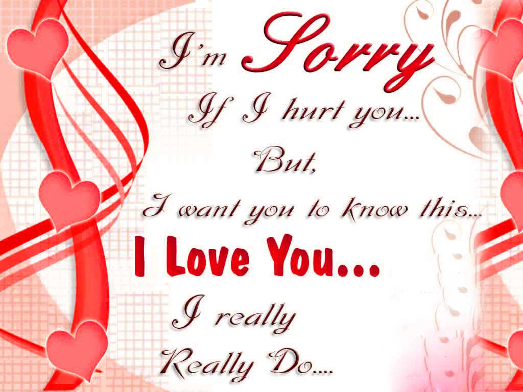 i am sorry my love wallpapers - photo #3
