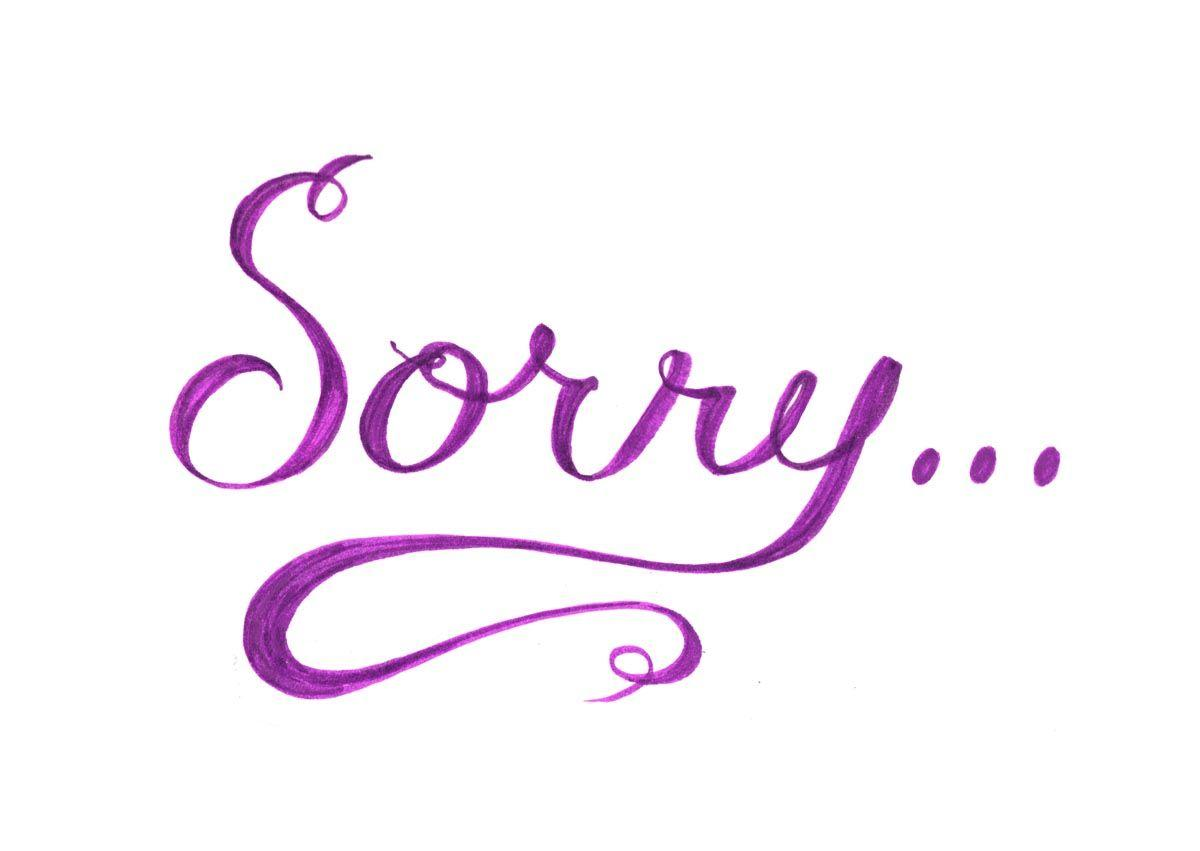 sorry text hd wallpapers | Daily pics update | HD Wallpapers Download