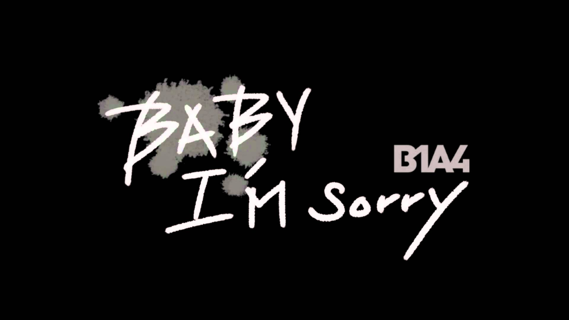 B1A4 - Baby I'm Sorry (English Cover/Lyrics In Description) -