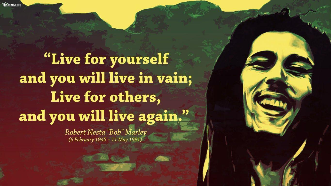 Top And Beautiful Bob Marley Wallpaper