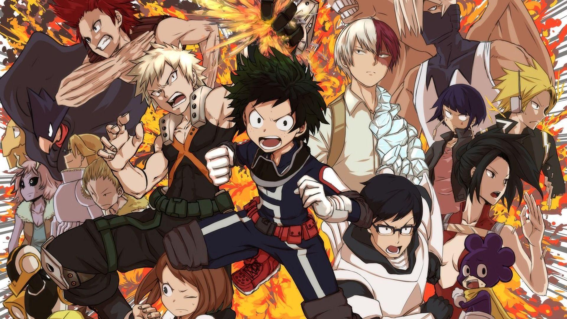 My Hero Academia Villains Wallpapers Wallpaper Cave