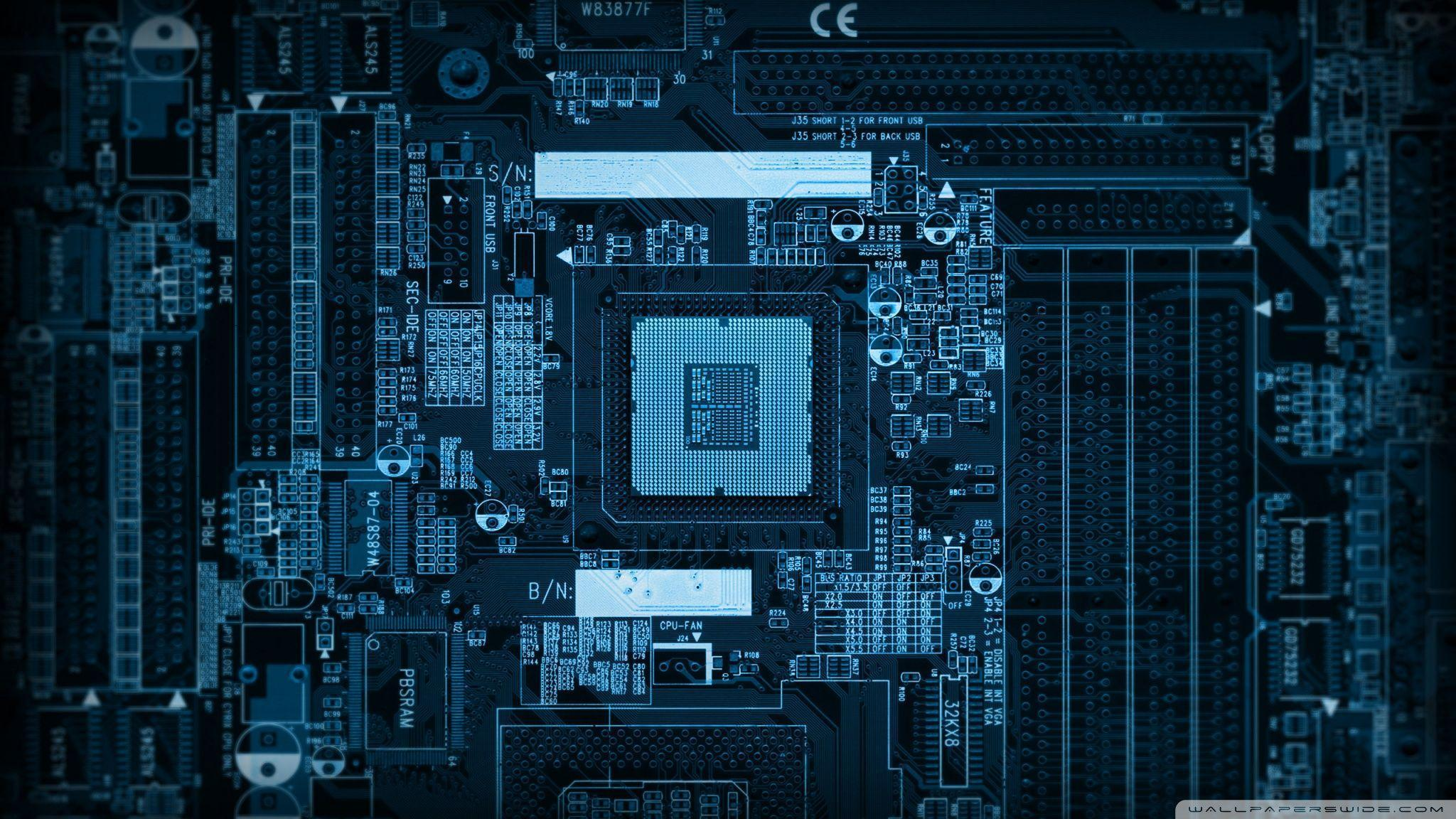 Motherboard HD desktop wallpaper : High Definition : Fullscreen ...