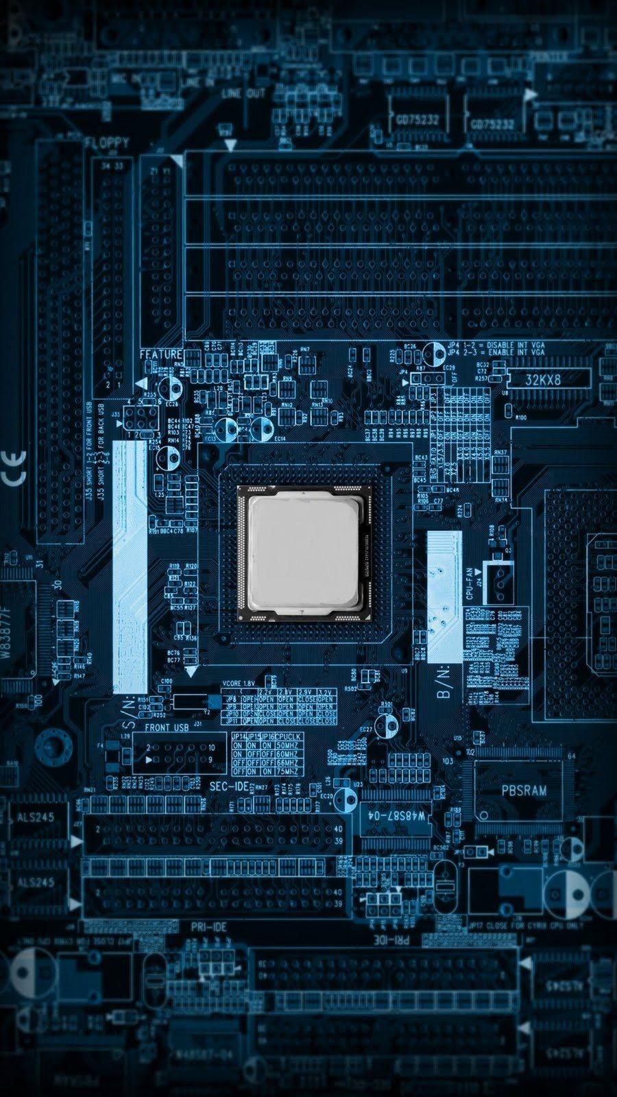 HD Motherboard Wallpaper - WallpaperSafari