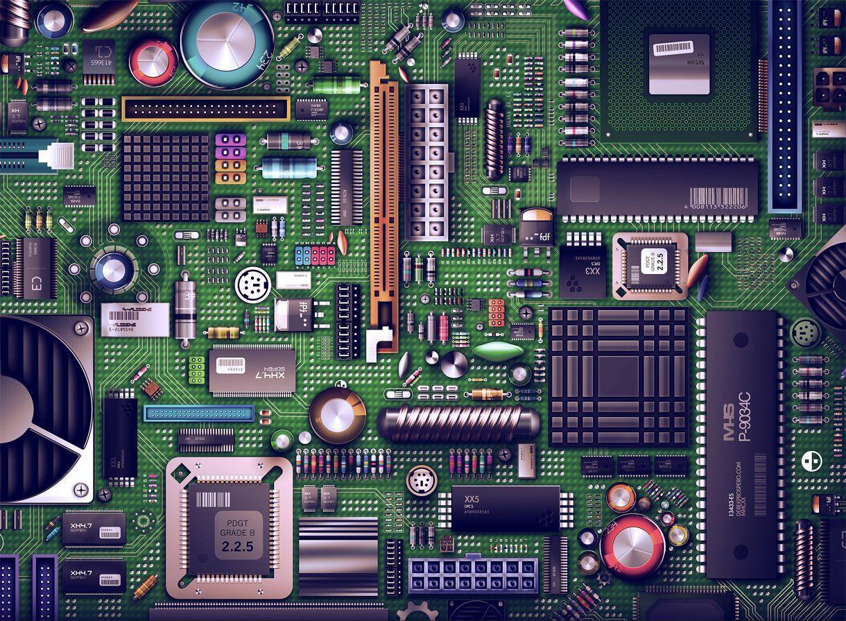 Motherboard HD Wallpaper - WallpaperSafari