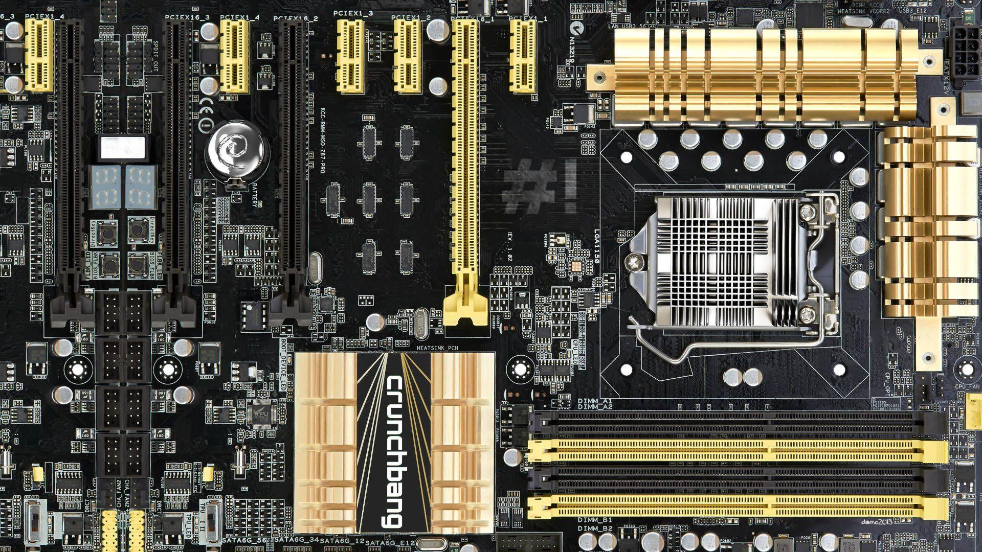 Motherboard HD Wallpaper | 1920x1080 | ID:60164