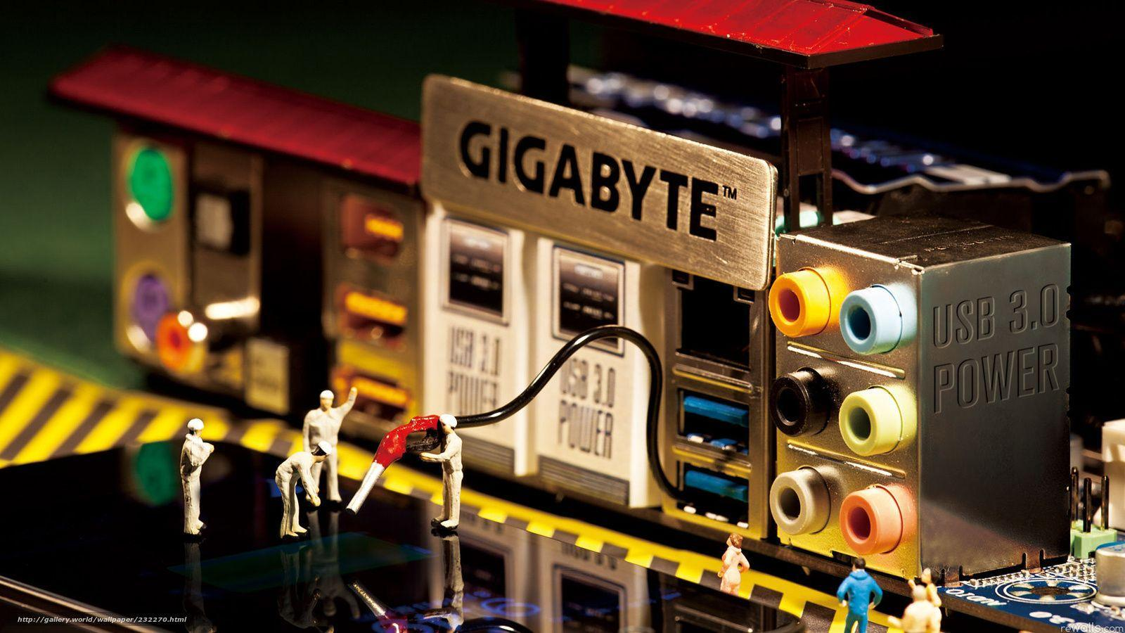 Download wallpaper gigabyte, motherboard free desktop wallpaper in ...
