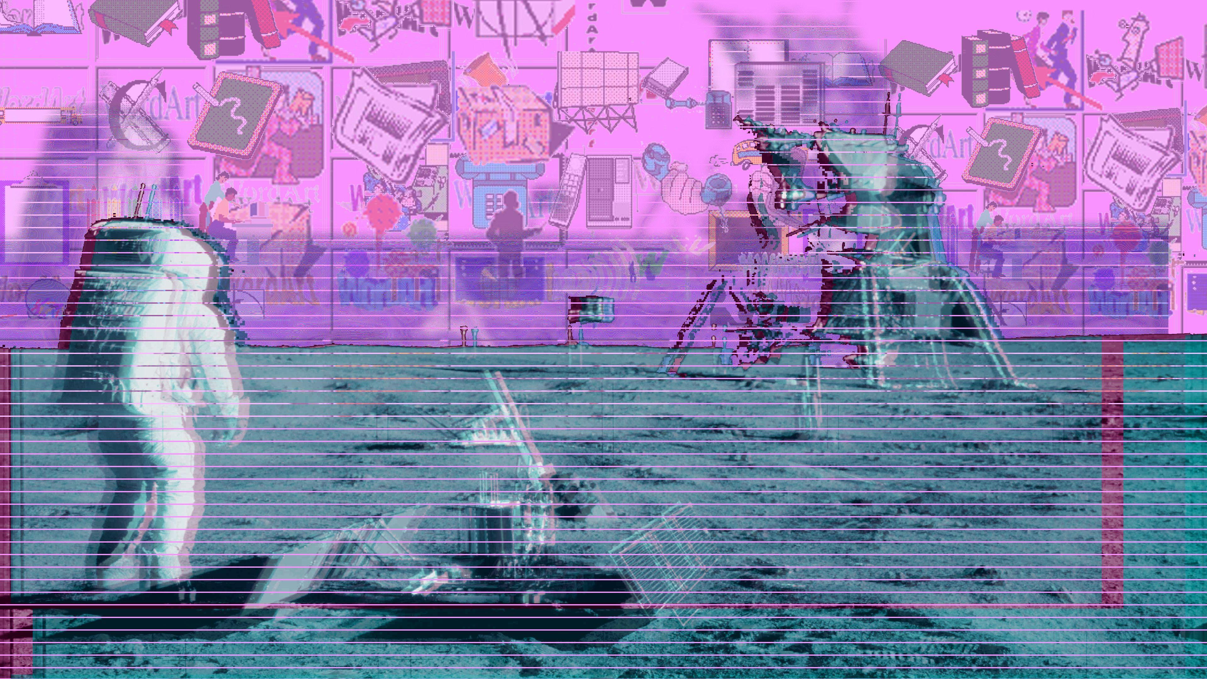 Vaporwave Aesthetic Wallpapers Wallpaper Cave