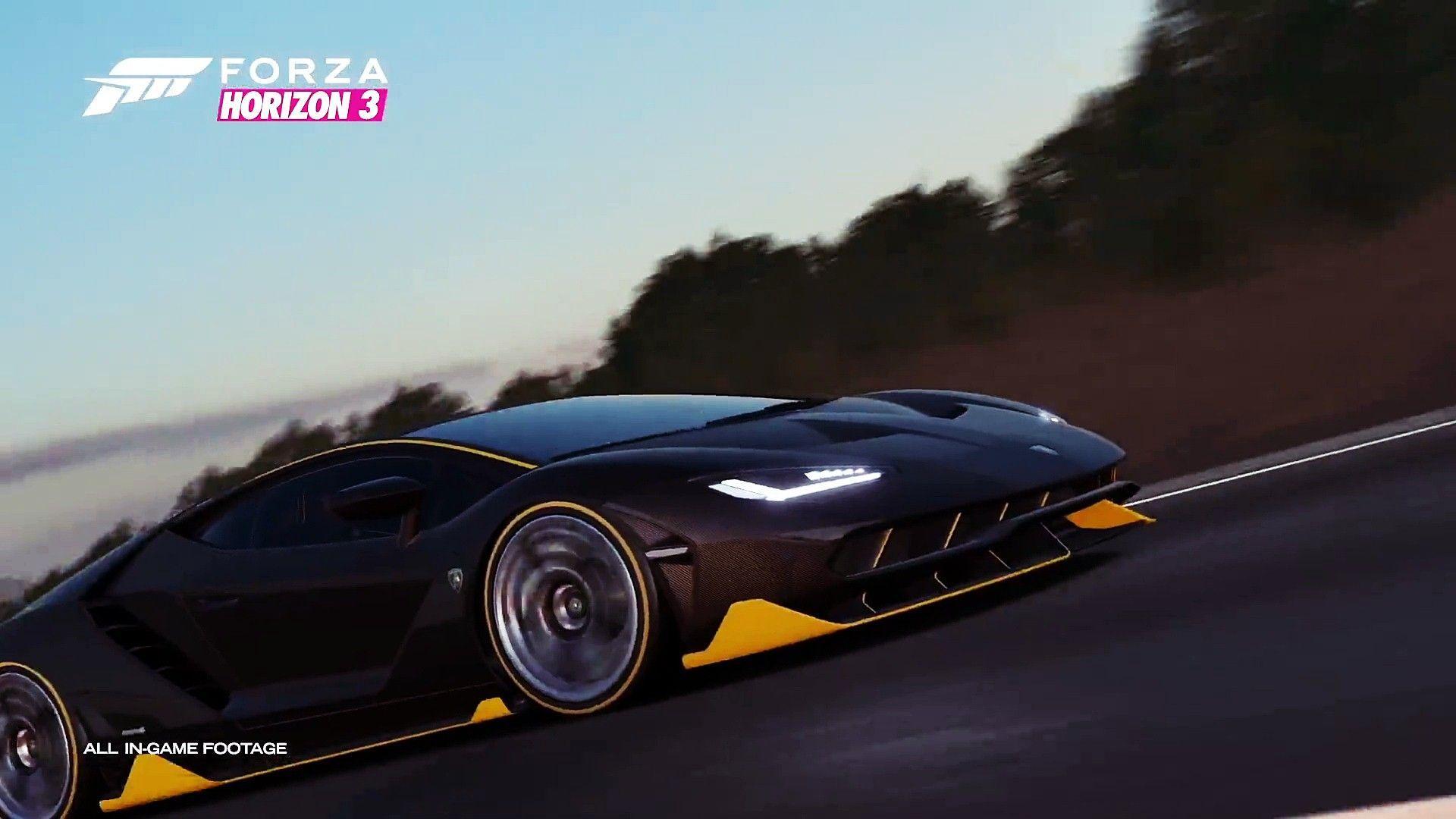 Forza Horizon 3 Background: Lamborghini Centenario Wallpapers