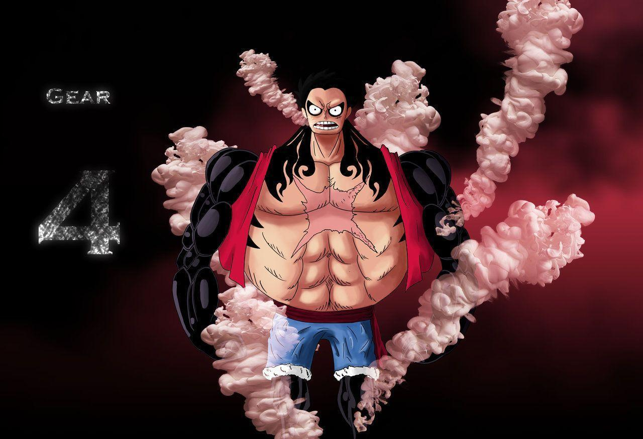 Luffy.. Gear 4 ! by docking94