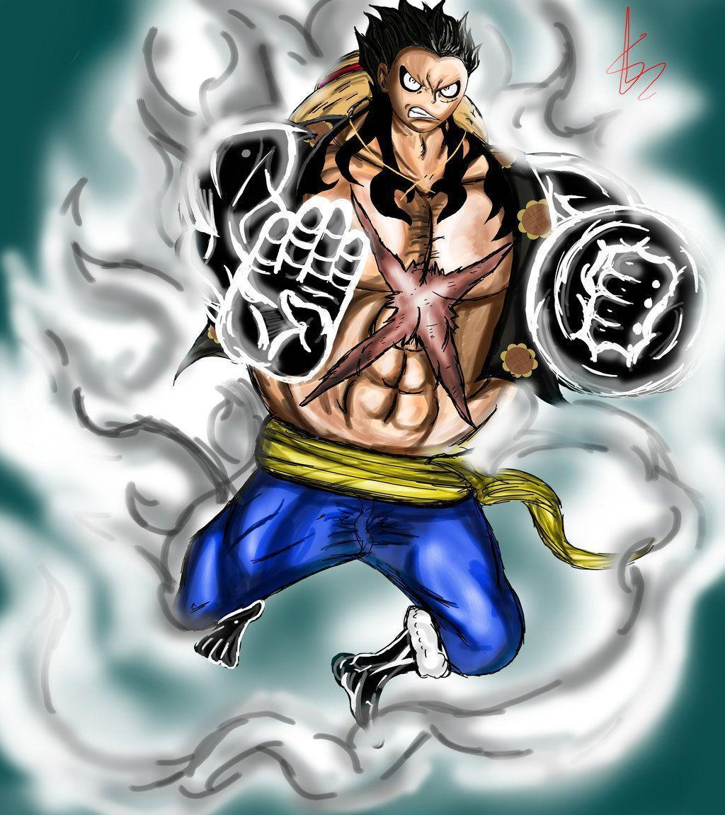 Gear Fourth Wallpapers... One Piece Wallpaper Luffy Gear Fourth