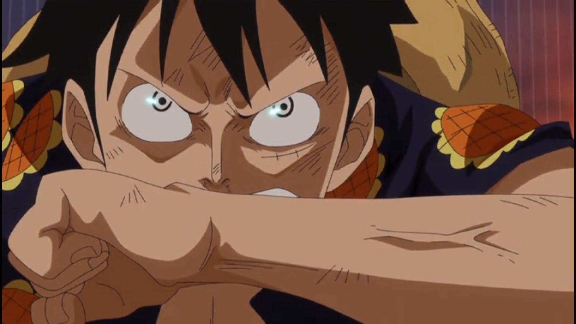 Luffy use Gear 4