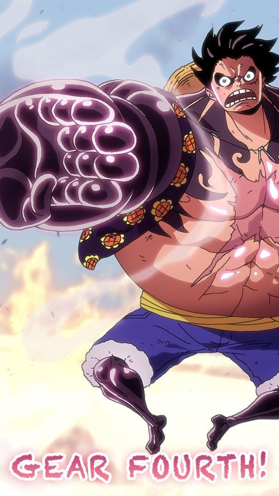 HD Wallpapers Luffy Gear Fourth iPhone 6 Plus