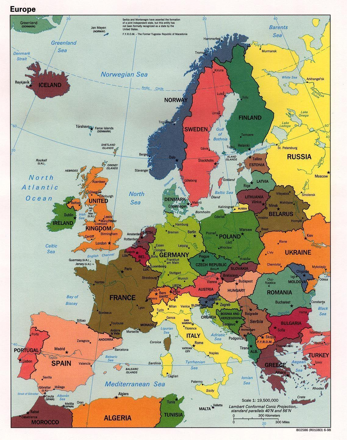 Europe Map Wallpapers Wallpaper Cave