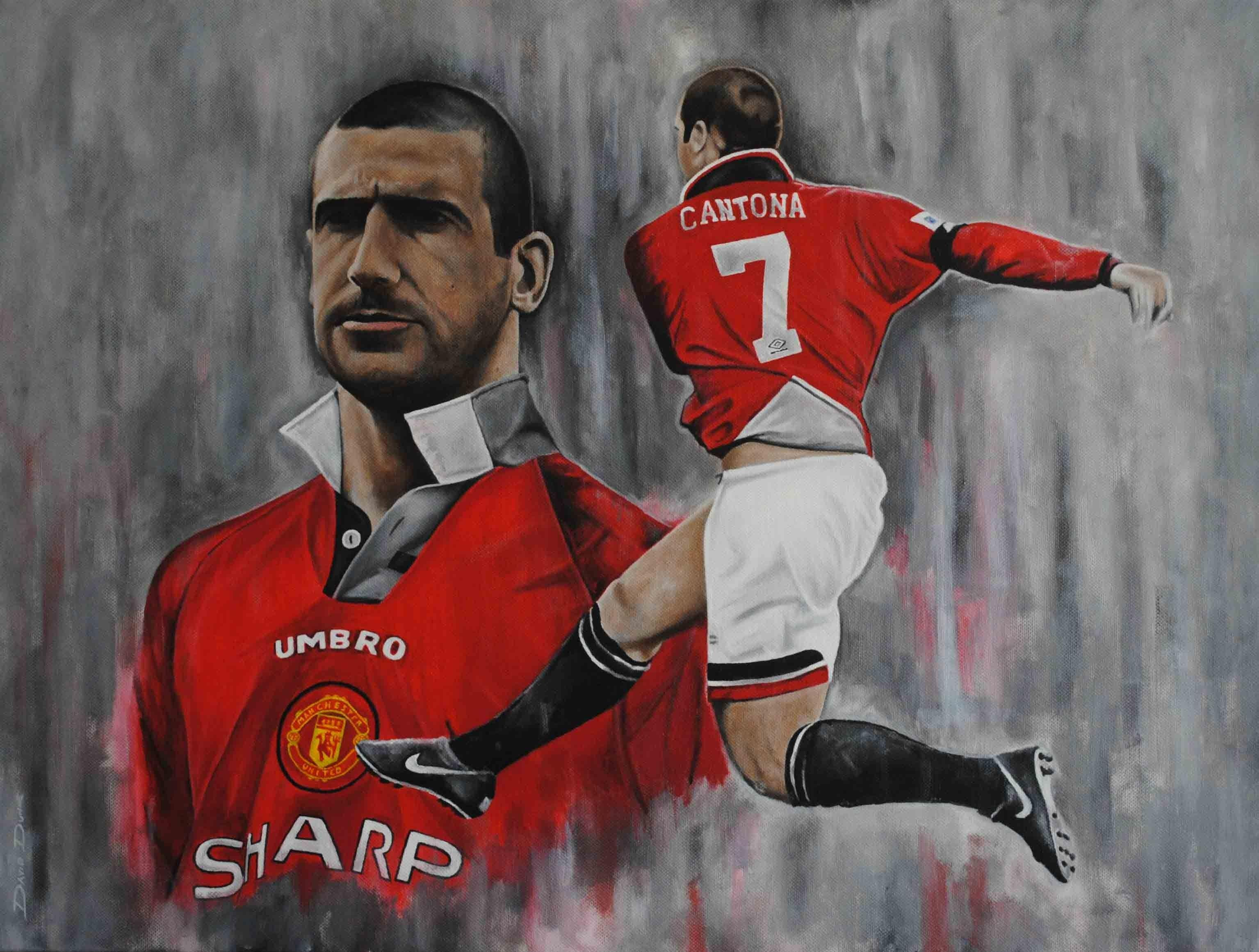 Footballers Eric Cantona Soccer Manchester United Wallpapers HD