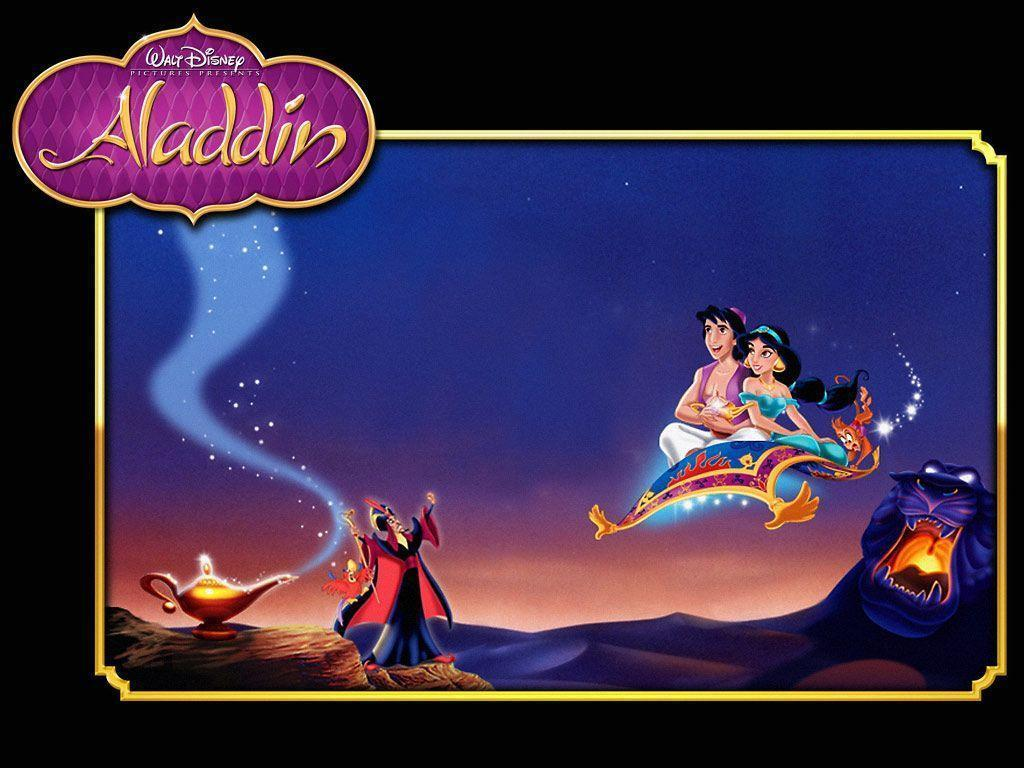 Aladdin Full HD Image Wallpaper for Tablet - Cartoons Wallpapers