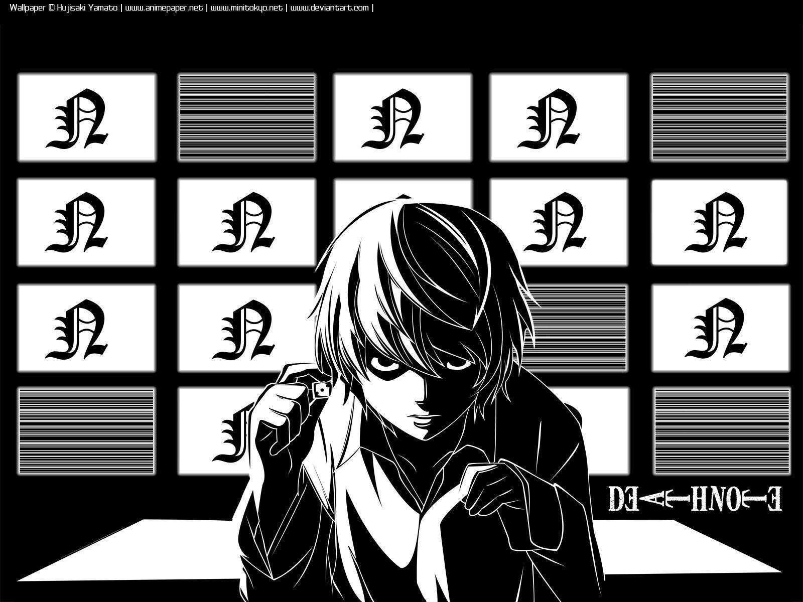 Death Note Manga Wallpapers Wallpaper Cave