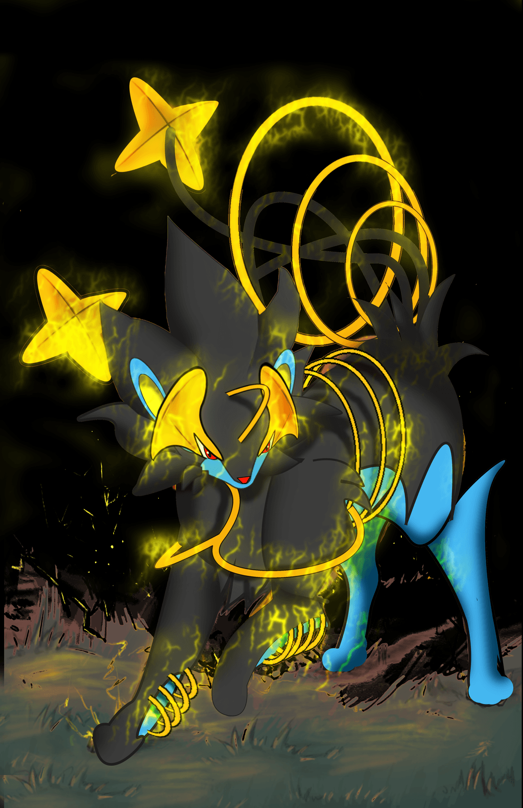 Luxray Pokemon Wallpapers Hd Images | Pokemon Images