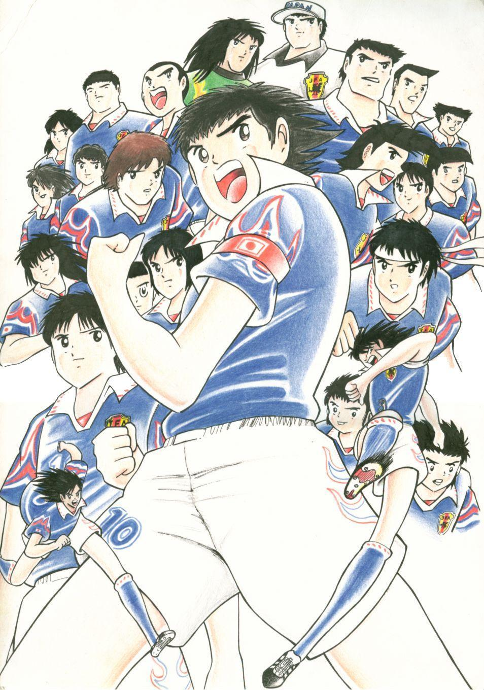 Captain Tsubasa Wallpapers Wallpaper Cave
