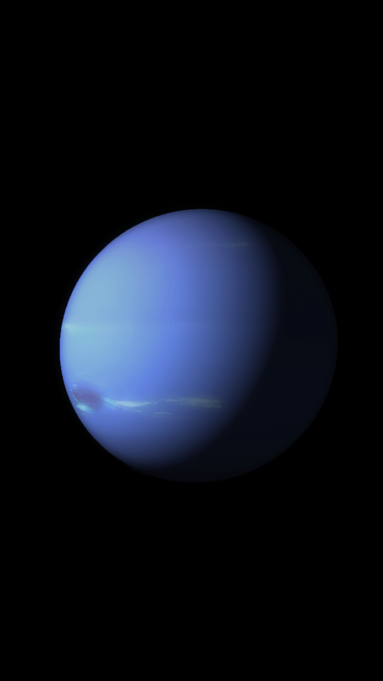 Neptune is part of the new planet themed iOS 9 wallpapers ...