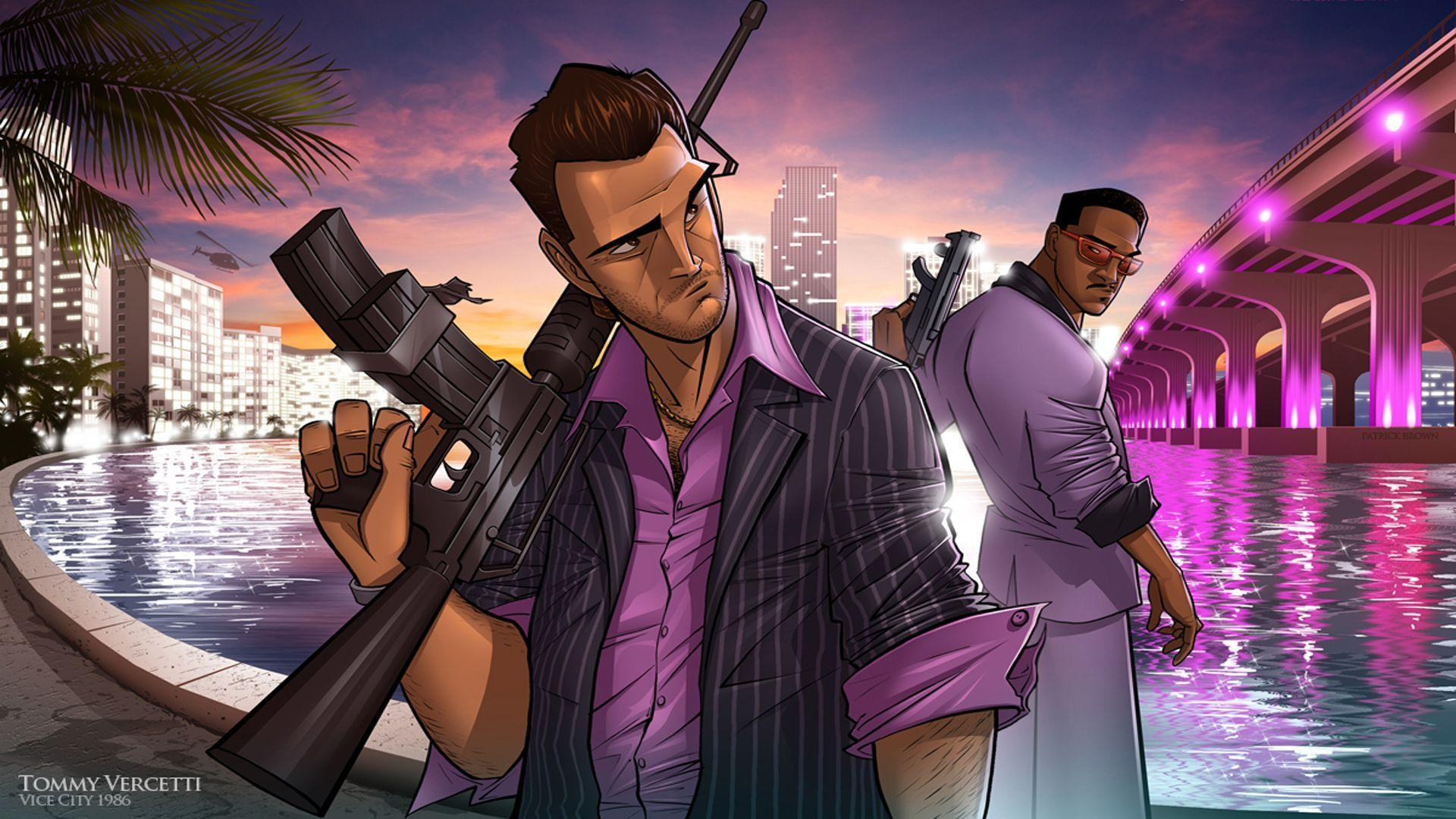 Full HD 1080p Vice city Wallpapers HD, Desktop Backgrounds