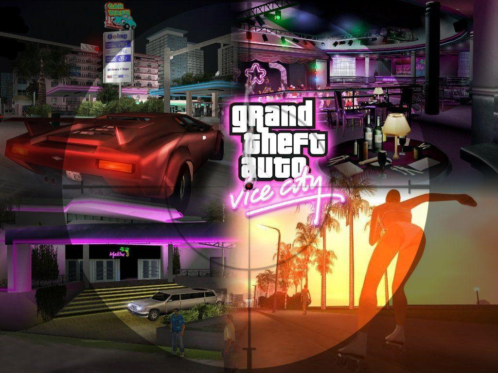 Theft Auto Vice City HD Wallpapers