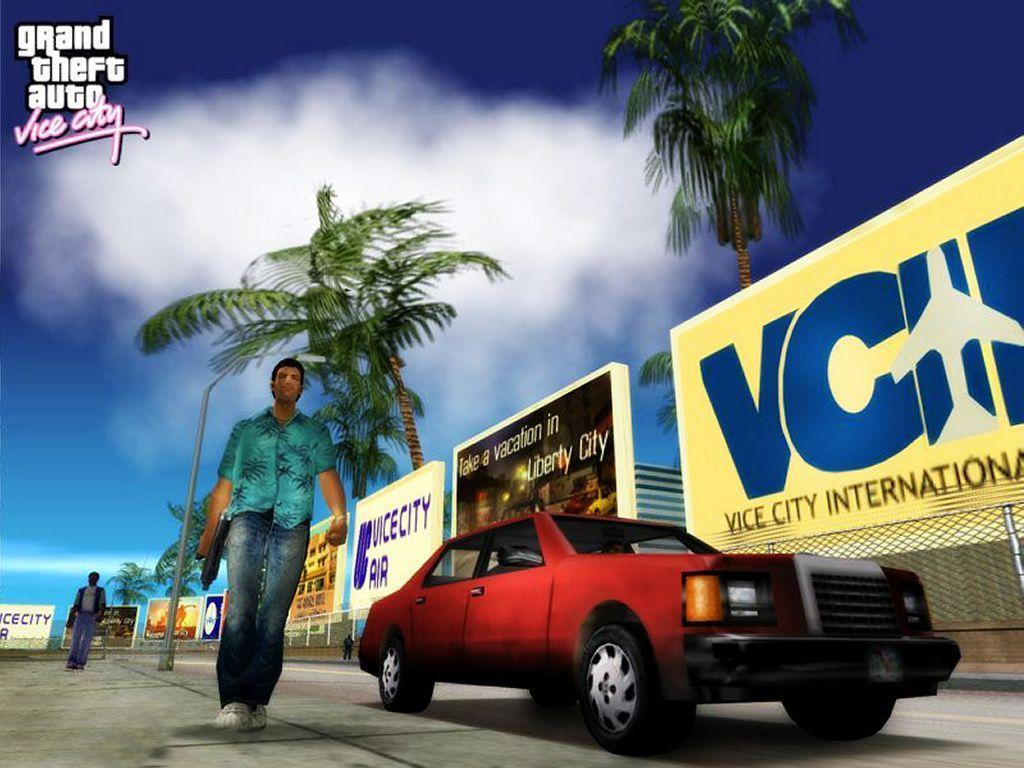 GTA Vice City Wallpapers and Maps