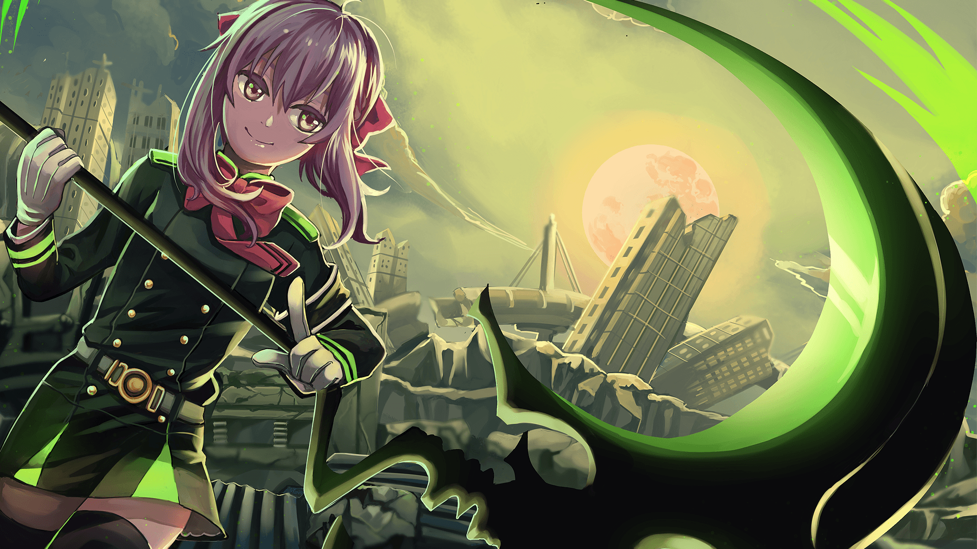 Seraph Of The End Wallpapers Wallpaper Cave