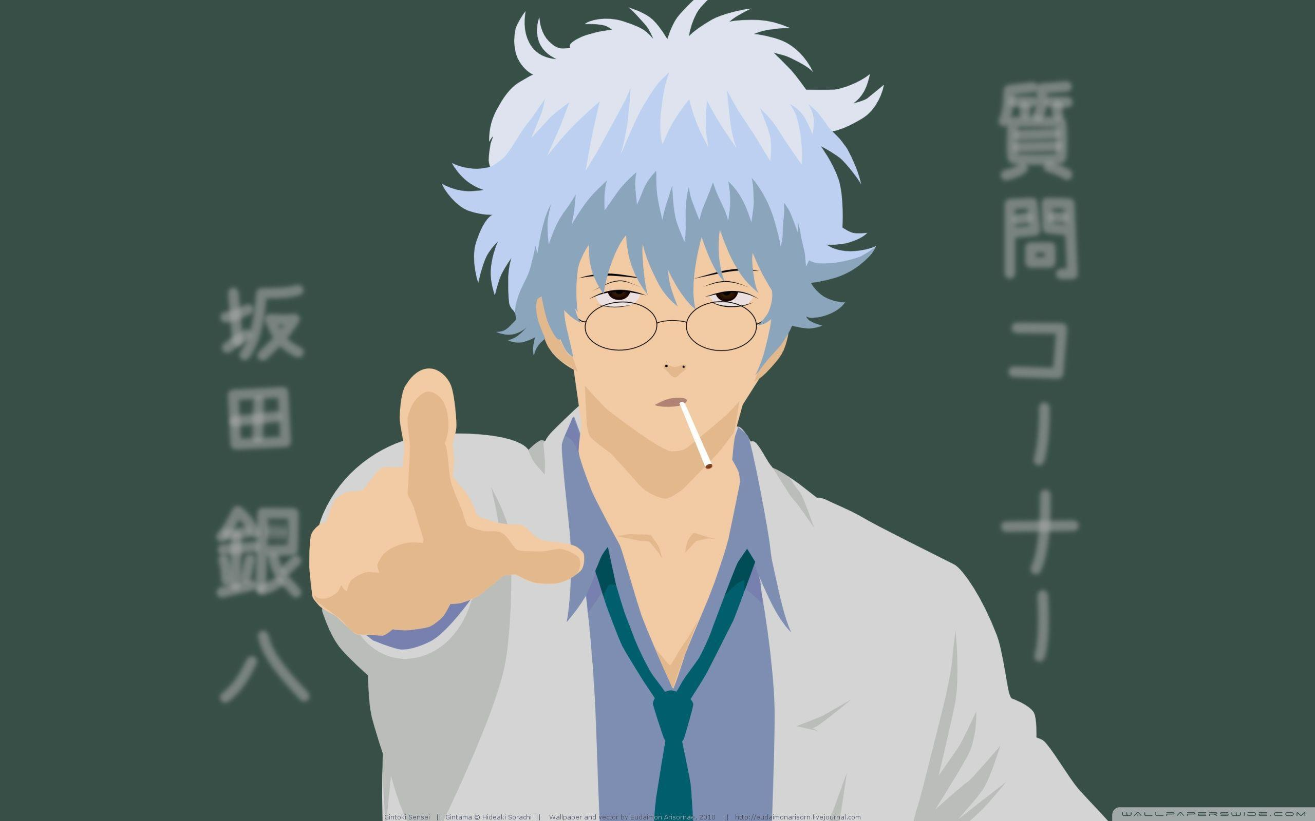 Gintoki Sakata HD desktop wallpapers : Fullscreen : Mobile