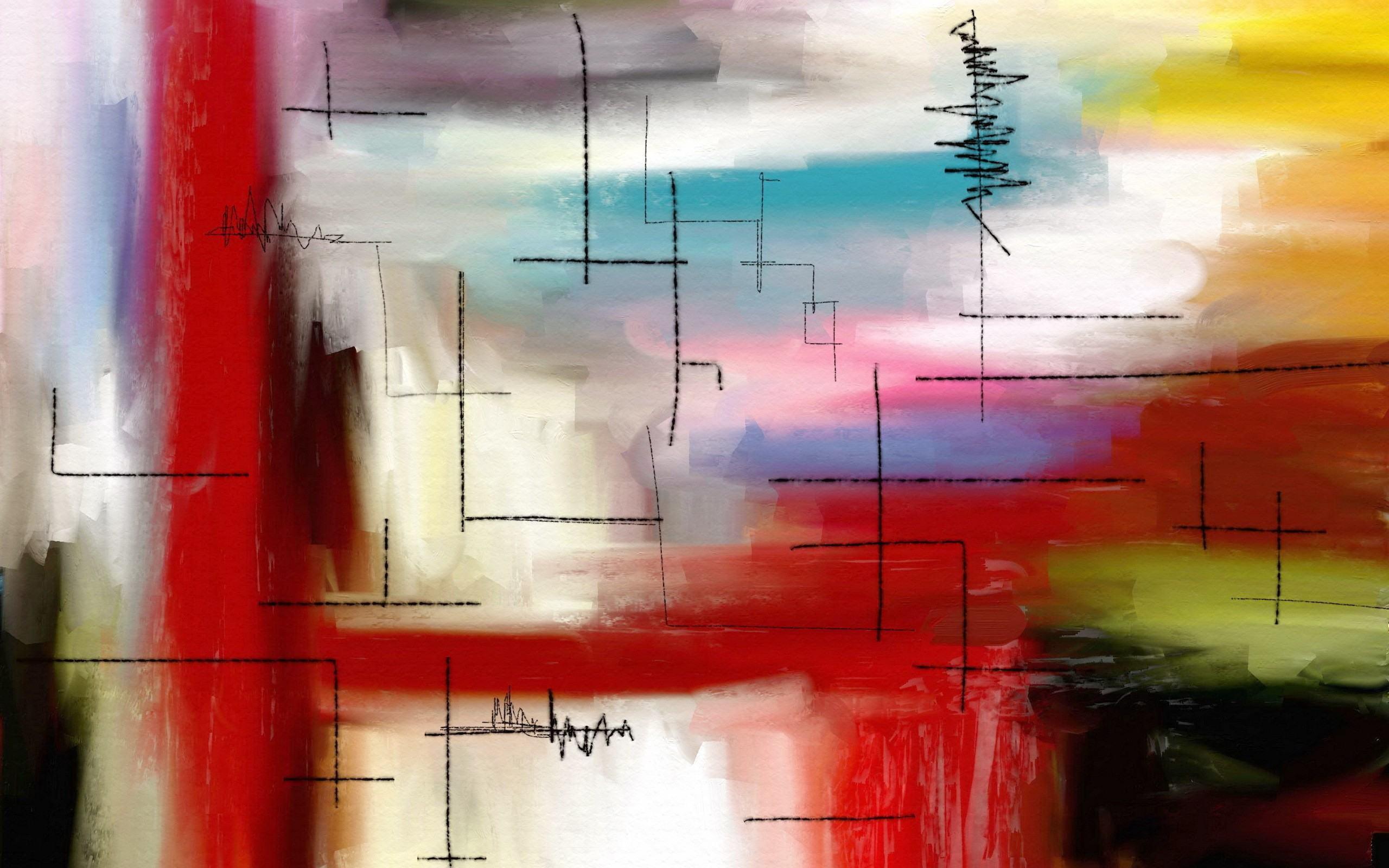 Free Desktop Wallpapers 39 Modern Art Wide