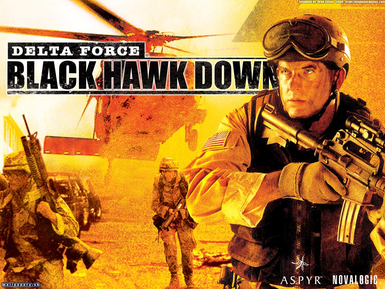 Delta Force: Black Hawk Down - Team Sabre Wallpapers ...