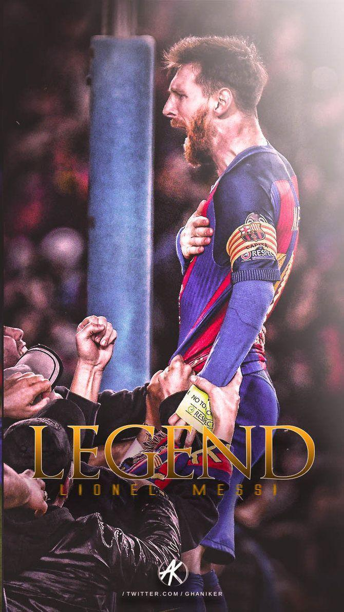 Lionel Messi 2016/17 phone Wallpaper by Ghanibvb on DeviantArt