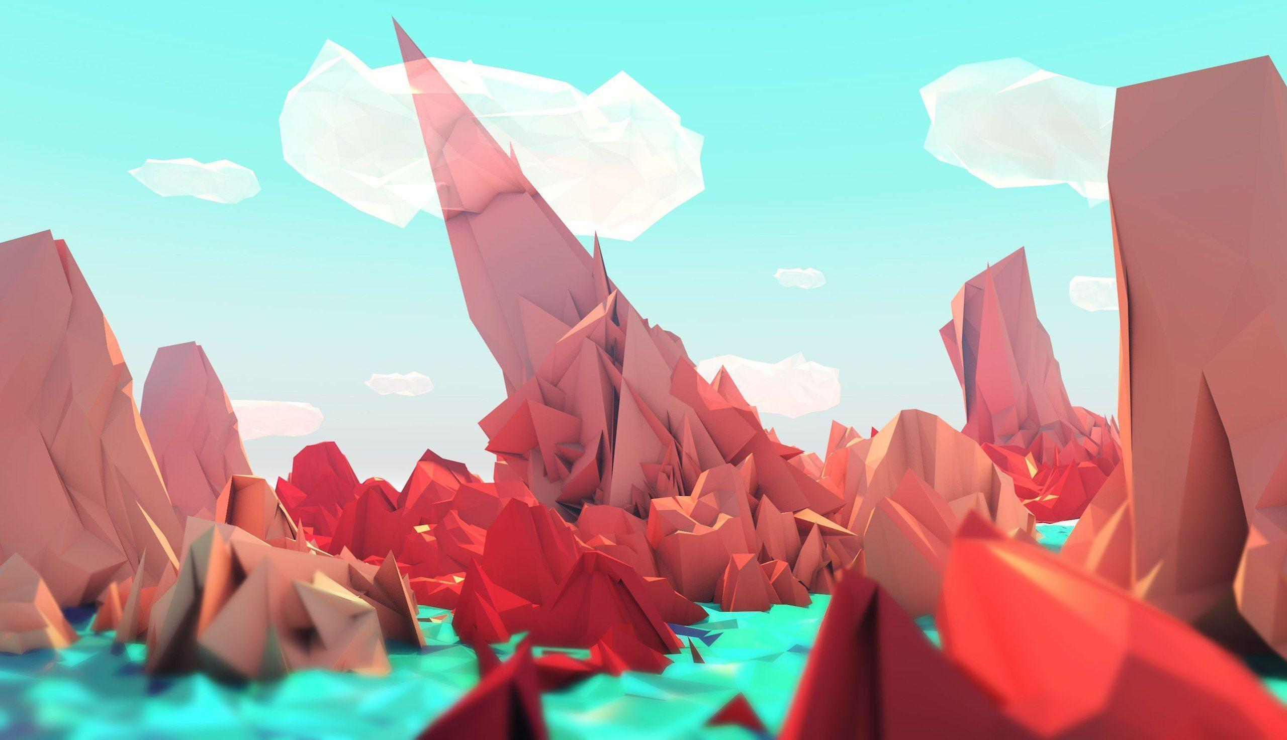 Low poly style wallpapers fulll pack HD (Part 1) - Album on Imgur